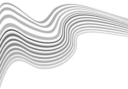 arte optico: Mobious vector de fondo de onda arte �ptico blanco y negro