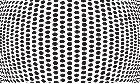arte optico: puntos abstractos arte óptico op art fondo