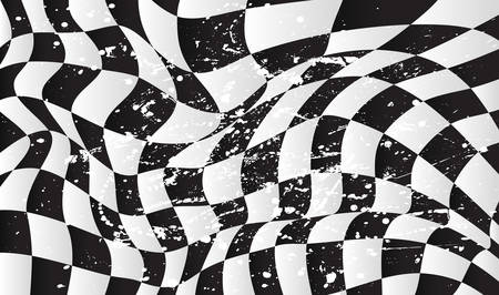 checker flag: checkered race flag waveing vector background layout design