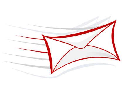 mail icon: vector mail icon illustration symbol sign Illustration