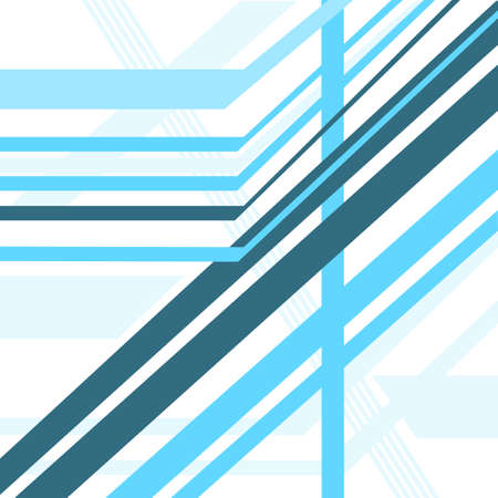 diagonal lines: diagonal lines blue vector abstract background Illustration