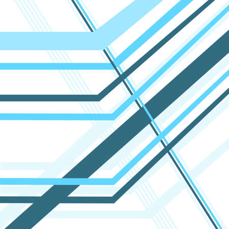 diagonal: diagonal lines blue vector abstract background Illustration