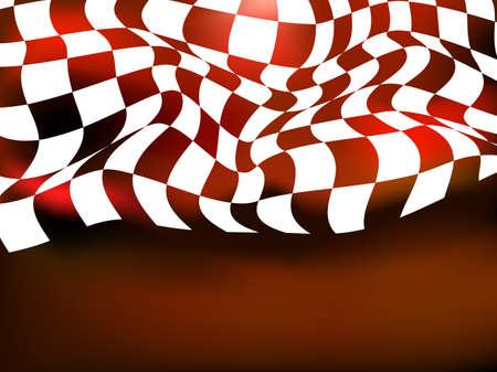 checker flag: race background checkered flag wave design