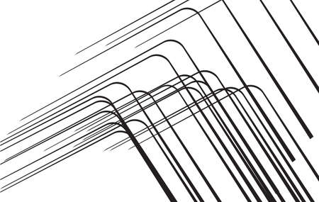 black lines: abstract black lines background design elements