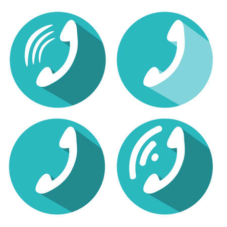 ringing phone: ringing phone vector symbol icon sign