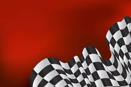 checkered: race background checkered flag wave design