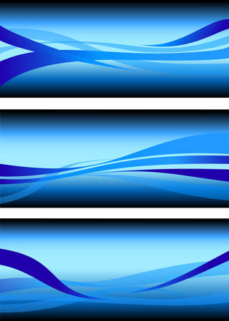 flowing water: abstract flowing water wave vector background design element