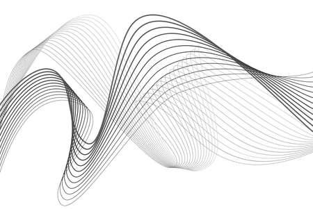 element for design: abstract wave element for design vector illustration Illustration