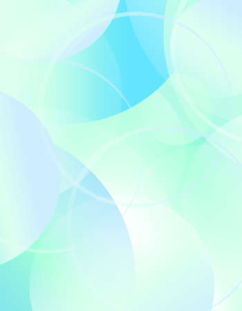 Abstract technology background with  circles design Ilustrace