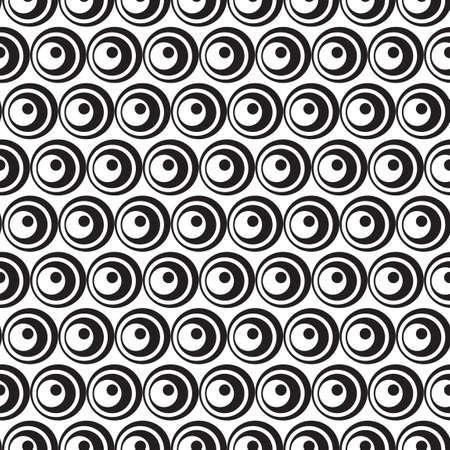 patron de circulos: c�rculos sin fisuras patr�n de fondo Vectores