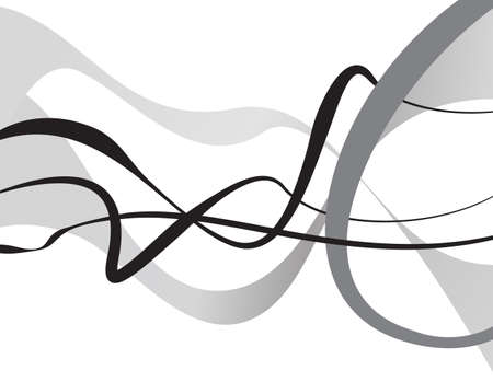 deform: Abstract art vector. Abstract background with curvy, curved lines, shapes.