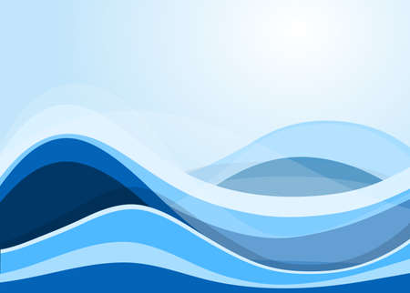 water flowing: abstract flowing water wave vector background design element