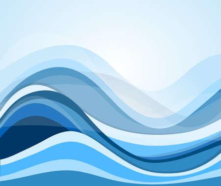 flowing water: