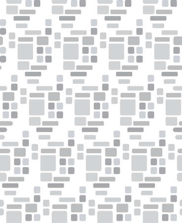 greyscale: seamless repeatable Square patterns greyscale vector