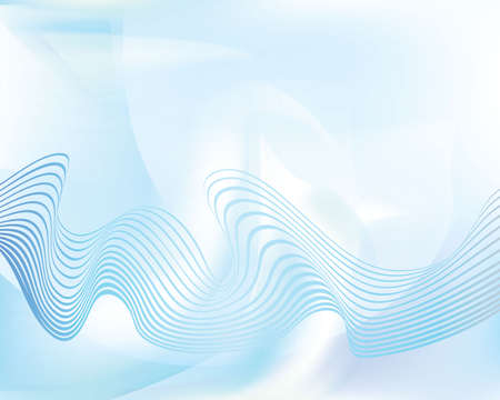 wawe: abstract blue background wawe layout design Illustration