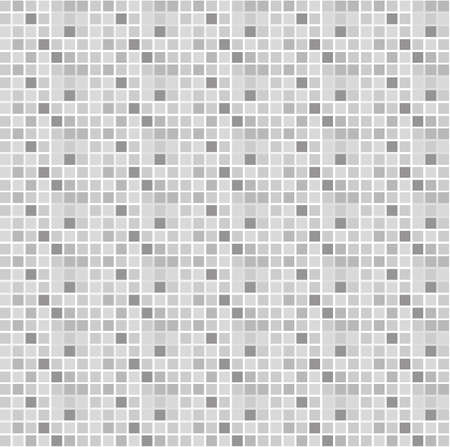 traditional silver wallpaper: square pattern seamless grey and white vector