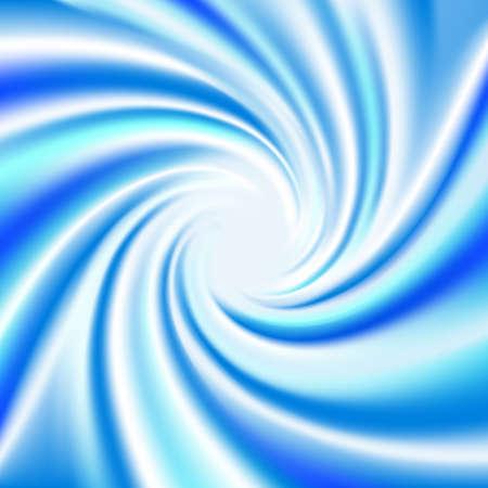 flashback: Blue Twirl Background (Vector) Illustration