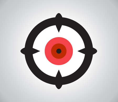 hindsight: Crosshair, reticle, viewfinder, target graphics