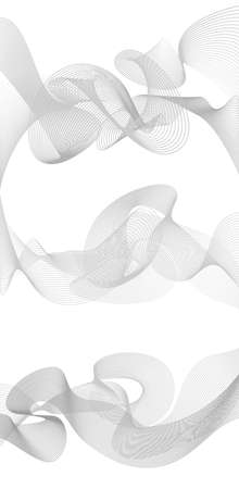 greyscale: abstract wave element for design greyscale