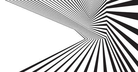 mobius: optical effect mobius wave stripe design movement