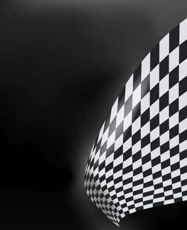 formula one racing: checkered race flag. Racing flags. Background checkered flag Formula one with space for your text