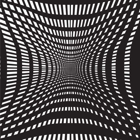 psychiatrist: tunnel black and white abstract background