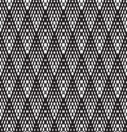 arte optico: modelo del arte óptico de fondo sin fisuras en blanco y negro Vectores