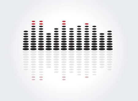 graphic equalizer: equalizer music sound background graphic design