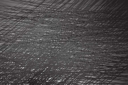 distort: dense lines abstract background black and white