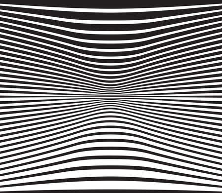 arte optico: optical art background wave design black and white
