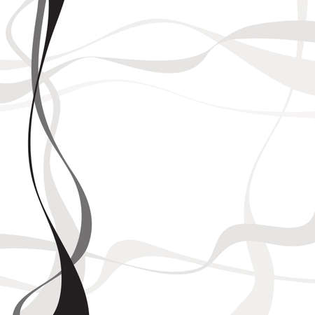 twisty: Abstract art vector. Abstract background with curvy, curved lines, shapes.