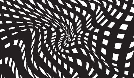 trickery: optical art background black and white, op-art black and white abstract