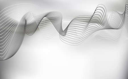 gray scale: Smoke background. gray scale, Abstract vector Illustration Illustration