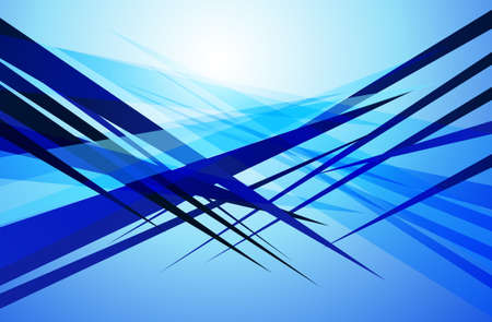 edgy: abstract shapes background edgy sharp blue design Illustration
