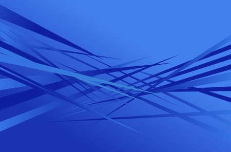 sharp: abstract shapes background edgy sharp blue design Illustration
