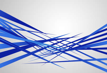 abstract shapes background edgy sharp blue design Illustration