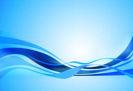 vagues de conception bleu, fond d'affaires corporate design abstrait