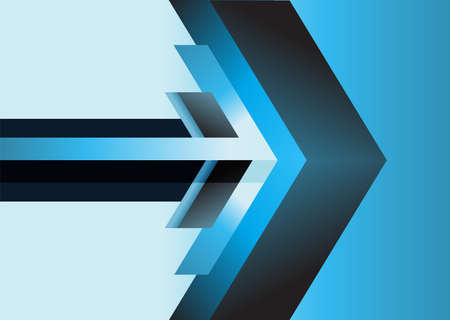 blue arrow: abstract blue arrow background. technology backdrop, motion banner