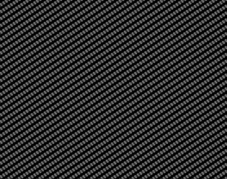 fibra de carbono textura transparente negro, fondo en escala de grises Ilustración de vector