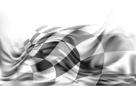 race flag: race flag  background vector illustration Illustration