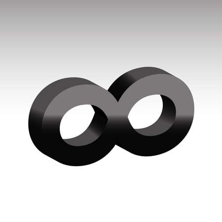 Infinity Symbol Unlimited Sign Icon Royalty Free Cliparts Vectors