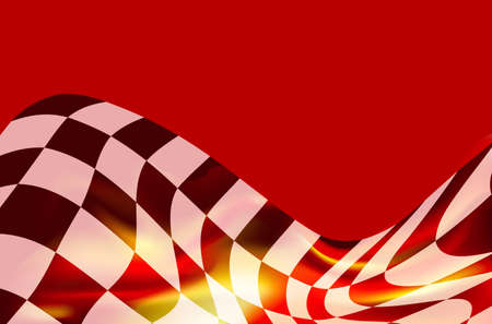 race flag background illustration