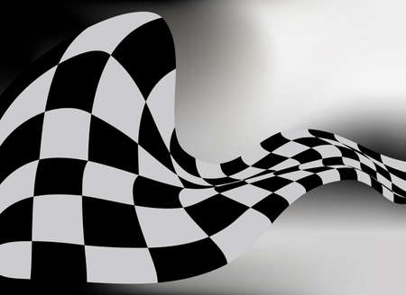 geruite vlag achtergrond vector raceontwerp