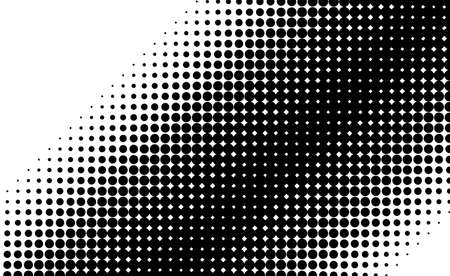 Dotted design element, abstract morph art background