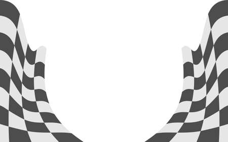Black and white stripe line abstract graphic optical art 矢量图像