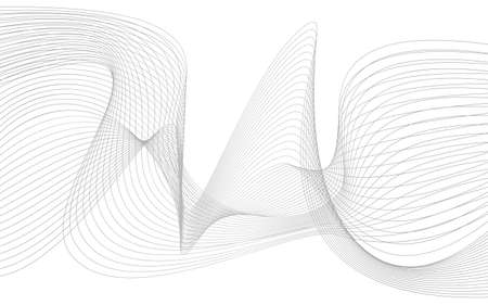 Business background lines wave abstract flowing stripe and curves design. 矢量图像