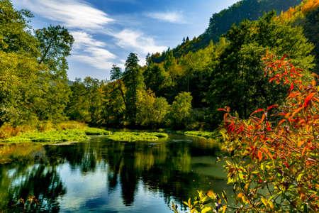 schweiz: Beautiful Valley in the frnkische Schweiz in bavaria germany.
