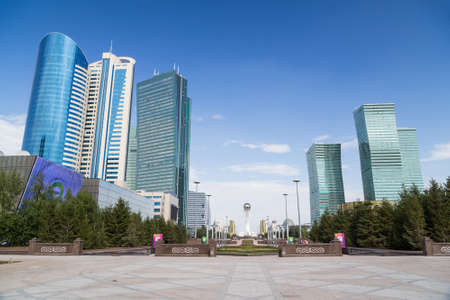 astana: Skyscrapers in Astana, Kazakhstan