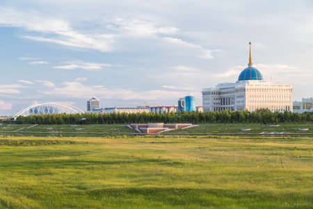 Presidential Palace in Astana, Kazakhstan