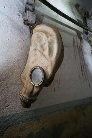 Secret Communist Party Nuclear Bunker and Shelter - Gas Mask